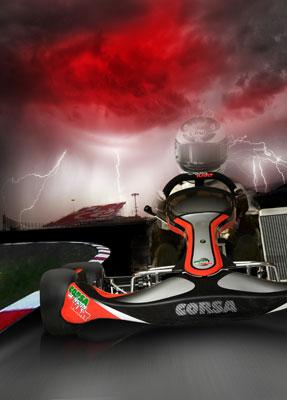 poster kart Corsa Racing Kart poster poster kart